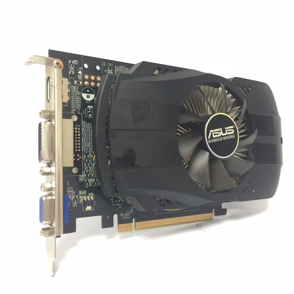 Asus GTX-750-FML-1GB GTX750 GTX 750 1G D5 DDR5 128 Bit PC Desktop Graphics Cards PCI Express 3.0 computer Graphics Cards 750 1GB 2