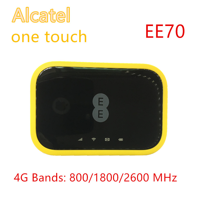 Unlocked EE Mini 2 Cat7 300mbps 4G LTE MiFi Ee70 Alcatel EE70VB Mobile Router Hotsport 4G Mifi Router With Sim Card Solt 5g Wifi