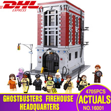 From Spain 16001 Ghostbusters Firehouse Headquarters Model Educational Building Kits Model set brinquedos Legoings 75827