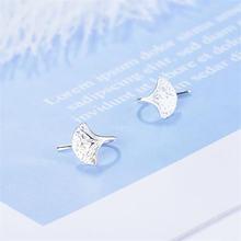 Новые модные простые серьги в виде крючка из стерлингового серебра