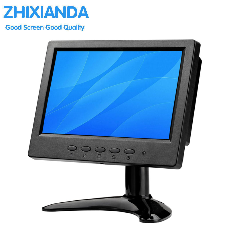 7 дюймов сенсорный монитор/7 дюймов Широкоформатный TFT ЖК-монитор/маленький портативный HDMI <font><b>HD</b></font> сенсорный монитор/7 дюйм(ов) TFT цветной ЖК-монито&#8230;