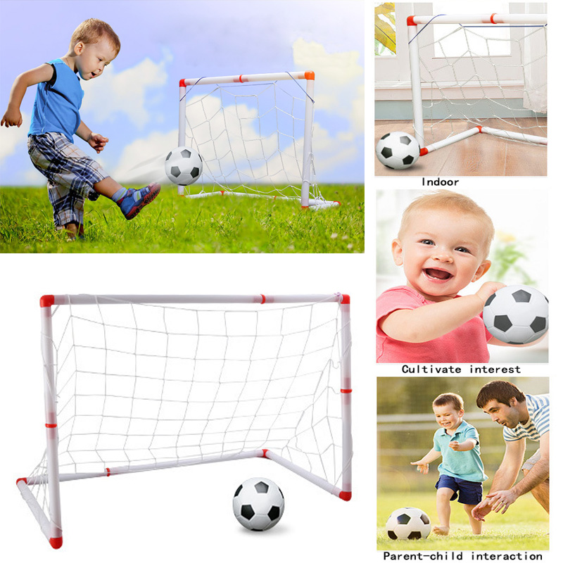 2017 New indoors and outdoors sports play kids football toys removable mini soccer gift childrens toys ...