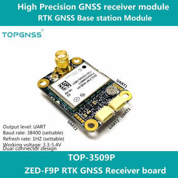 Designed with the ZED-F9P F9 module, the RTK high-precision GNSS receiver can be used as a base station and rove TOPGNSS TOP350 - DISCOUNT ITEM  15% OFF All Category