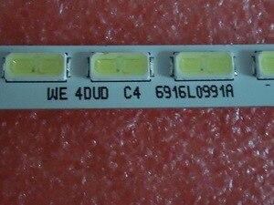 Image 3 - LED rétro éclairage écran LED rétro éclairage LG 60M6450 CA 6922L 0035A 1 1 6916L0991A LC600EUD 1 pièces = 80 LED 755mm