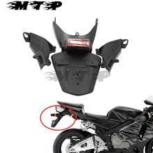 Мотоцикл сзади всплеск брызговик Dirtboard держатель номерного знака выхлопной Поддержка боковой обтекатель для Honda CBR600RR F5 05-06