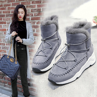 New Most Popular Style Women Running Shoes Outdoor Walking Warm Snow Winter Sneakers Comfortable Athletic Shoes