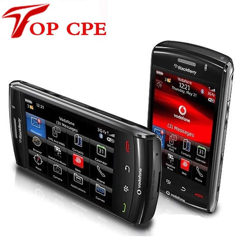 Original Unlocked BlackBerry Storm2 9520 Cell Phone 3G GPS WIFI Touch Screen refurbished smartsphone Drop Shipping