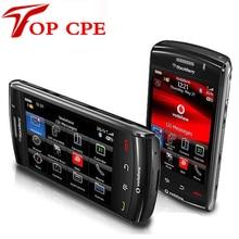 Оригинальный разблокирована blackberry storm2 9520 сотовый телефон 3 г gps wifi сенсорный экран восстановленное smartsphone груза падения