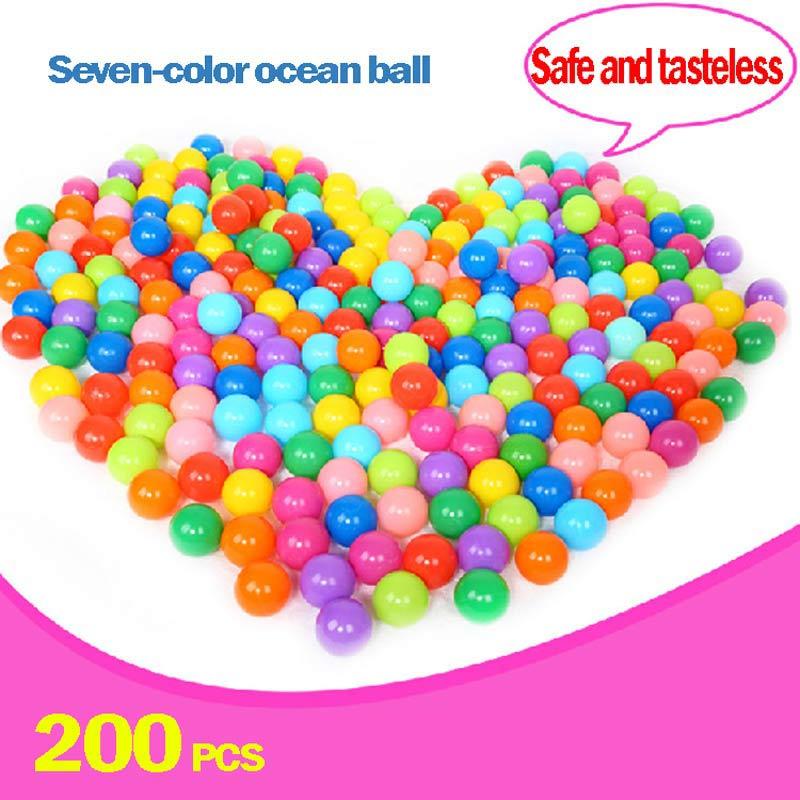 Plastic Balls For Ball Pit Baby Pool Balls 200pc Wholesale Ball Pit Balls Colored Plastic Parque De Bolas Ball Pit Playpen