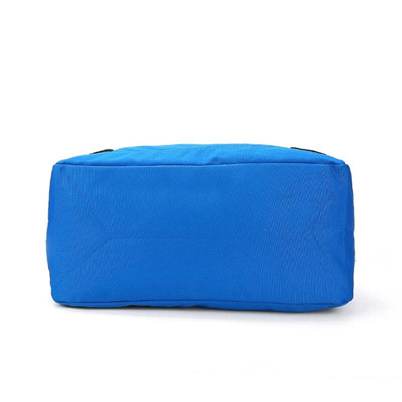 Ringed Penguin Women Travel Bag Nylon Stor Kapacitet Bagage Weekend - Väskor för bagage och resor - Foto 4