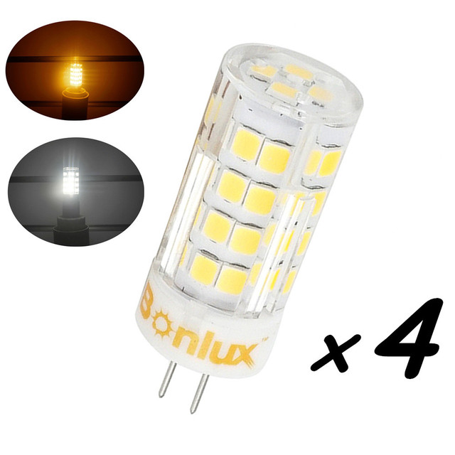 4W LED G4 Bi Pin Base Light Bulb 35W G4 Halogen Bulb Replacement 110v/