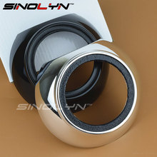 SINOLYN Iris HID Projector Shrouds Masks Hoods Bezels for Projector Retrofit Chorme Black Fit 3 0