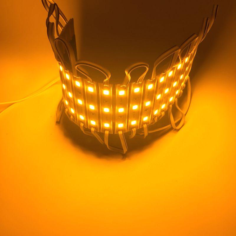 Image 5 - 10PCS/Lot LED Module 5054 3 LED DC12V Waterproof Advertisement Design LED Modules White Color Super Bright Lighting-in LED Modules from Lights & Lighting