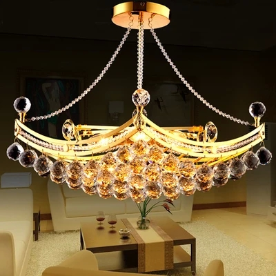 Modern Fashion Crystal Pendant Light Restaurant Lamp Living Room Lights Bedroom Lamps  D80CM 2016 time limited suspension luminaire basons fashion living room pendant light modern bedroom lamp brief crystal dining lamps