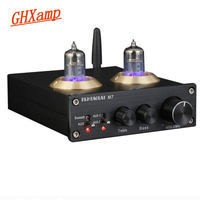 GHXAMP Bluetooth 6J1Tube Bile Preamp Amplifier 3.5 Stereo HIFI DC 12V Tube Preamplifier With Treble Bass Tone Control 1PC