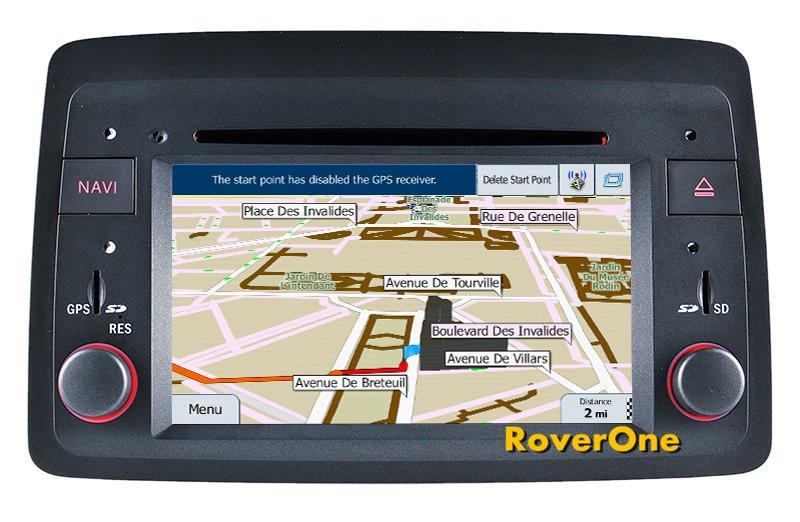 Para Fiat Panda 2004-2012 Android 7.1 Autoradio Carro Multimedia Player de Rádio Estéreo DVD Navegação GPS Sat Navi Mídia MirrorLink