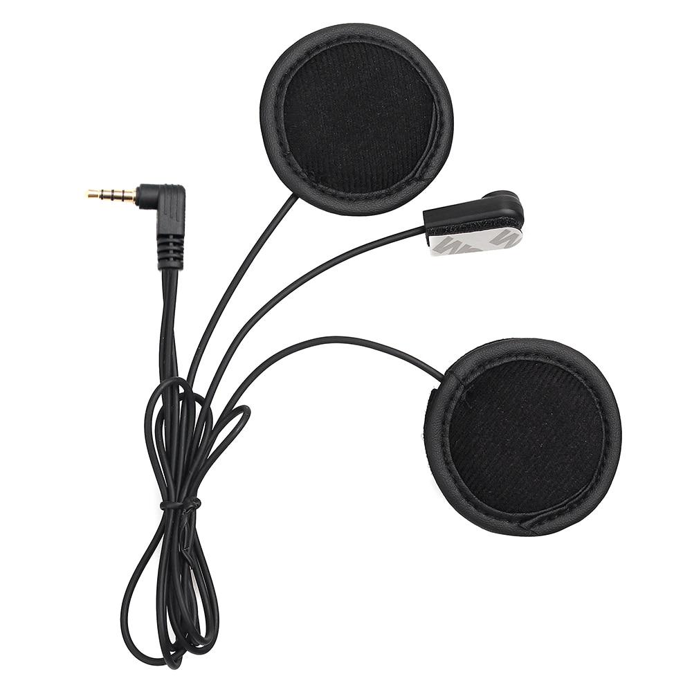 Fodsports V6 Microfone & Fone de Ouvido Macio, Trabalhar para V6 V4 Capacete Da Motocicleta Do Bluetooth Interfone Headset