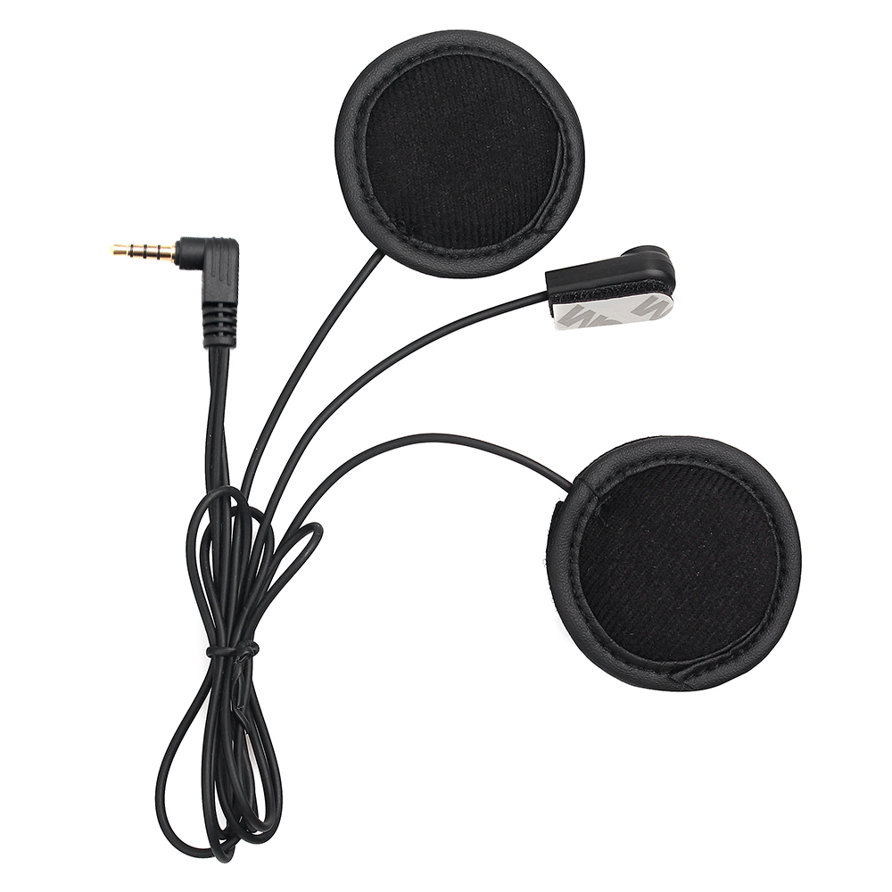 Fodsports V6 Weiche Mikrofon & Kopfhörer, Arbeit für V6 V4 Motorrad Helm Bluetooth Intercom Headset