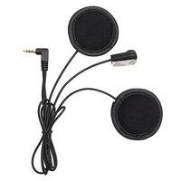 Fodsports v6 macio microfone & fone de ouvido  trabalho para v6 v4 capacete da motocicleta bluetooth fone de ouvido interfone|Fones de ouvido p/capacete|   -