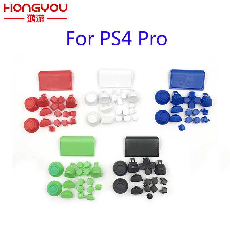 30Sets Pro Full Butons For Play Station Dualshock 4 PS4 Pro Controller JDM 040 JDS 040