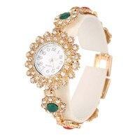Fashion Women S Bracelet Watches Top Brand Luxury Lady Dress Watches Elegant Crystal Jewelry Quartz Wristwatch