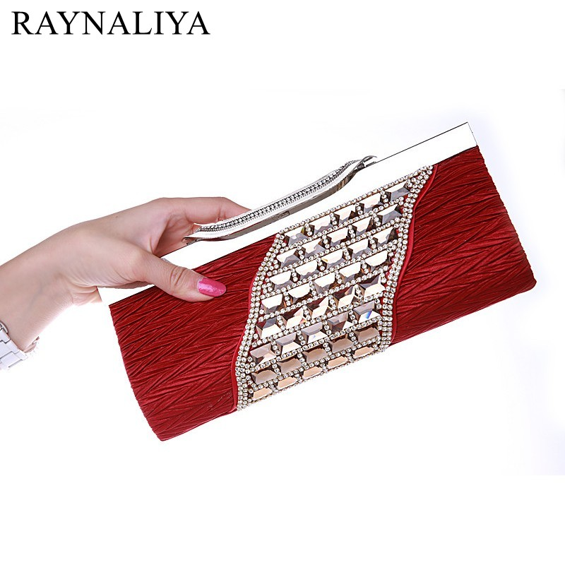 Women Elegant Fashion Rhinestone Wedding Party Clutch Silver Black Gold Evening Bag Ladies Shoulder Bag Flap Purse SMYSFX-E0011 luxury designer gold clutches flap women evening bags long chain tassel shoulder bag wedding party rhinestone clutch purse l897