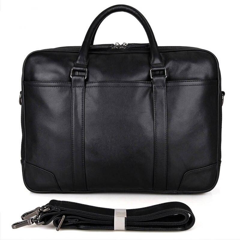 Véritable cuir 2019 nouvelle mode hommes d'affaires grande capacité porte-documents bureau portable sac en cuir rétro hommes sac à main décontracté