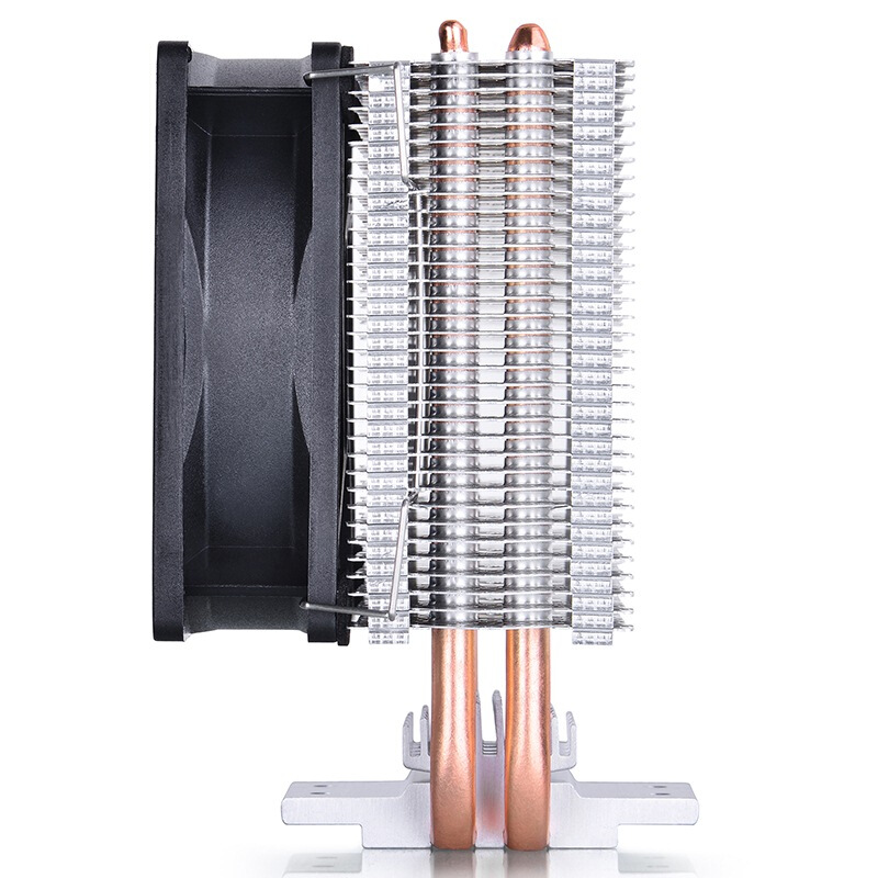Купить с кэшбэком Deepcool MINI CPU cooler  Double Heatpipe Radiator for Intel LGA 775/115x for AMD 754/940/AM2+/AM3/FM1/FM2 cooling