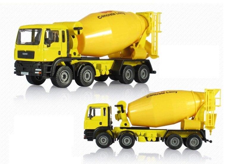 Мини Классические инженерные транспортные средства модель автомобиля бетонные игрушки грузовики с сплав металла отправлено игрушка для детей мальчиков без коробки