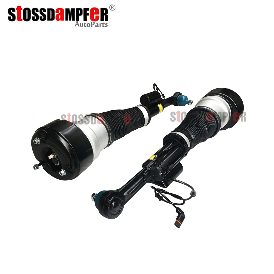 StOSSDaMPFeR New 2pcs Air Ride Suspension Shock Front Air Spring Assembly Fit Mercedes Benz W221 CL550 4matic 2213200438 (538)