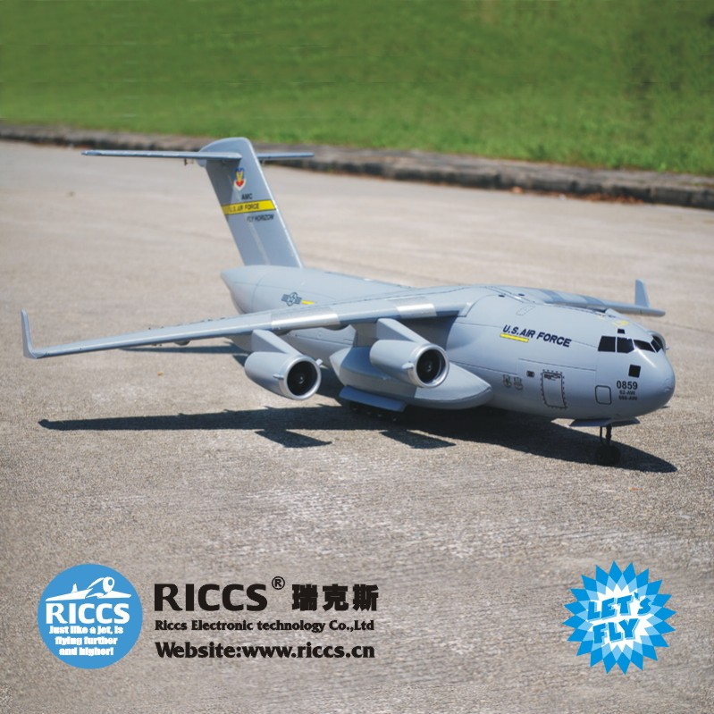 C17 transport airplanes electric remote control model aircraft RC electric transport New arrival national transport