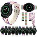 22mm 2016 New TPU Silicone Relógio Do Esporte Banda relógio De Pulso De Luxo cinta para samsung galaxy gear s2 sm-r720 correa de alta qualidade Reloj