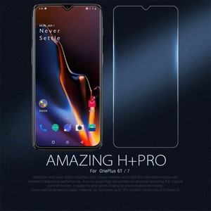Image 2 - for Oneplus 7T/ 7/ 6T Tempered Glass for One plus 6T Glass Nillkin Amazing H+Pro 0.2MM Screen Protector For Oneplus 7 6T 7T