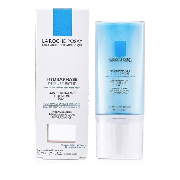 La Roche Posay - Hydraphase Intense Riche Intensive Rehydrating Care pearls intensive care 30 capsules pack of 2