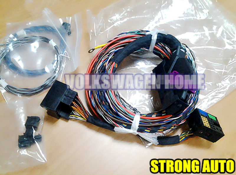 Oem Plug In Play Vw Dynaudio Harness Wiring Audio Cable Speaker Kit For: Vw Golf Mk7 Wiring Diagram At Shintaries.co