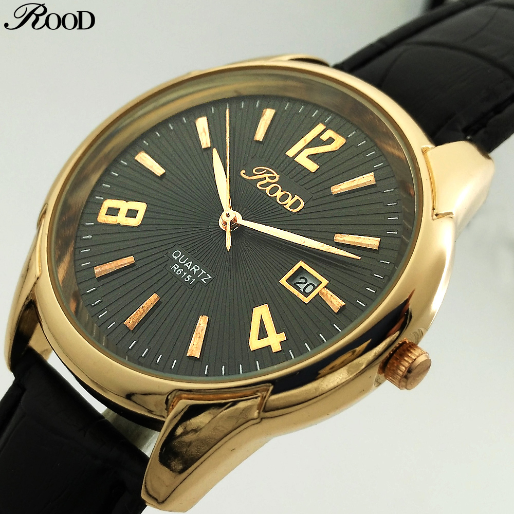 Luxury Top Brand Watches Men Fashion Quartz Watch Classic Gold Date Leather Waterproof Male Wristwatch Relogio Masculino new listing yazole men watch luxury brand watches quartz clock fashion leather belts watch cheap sports wristwatch relogio male