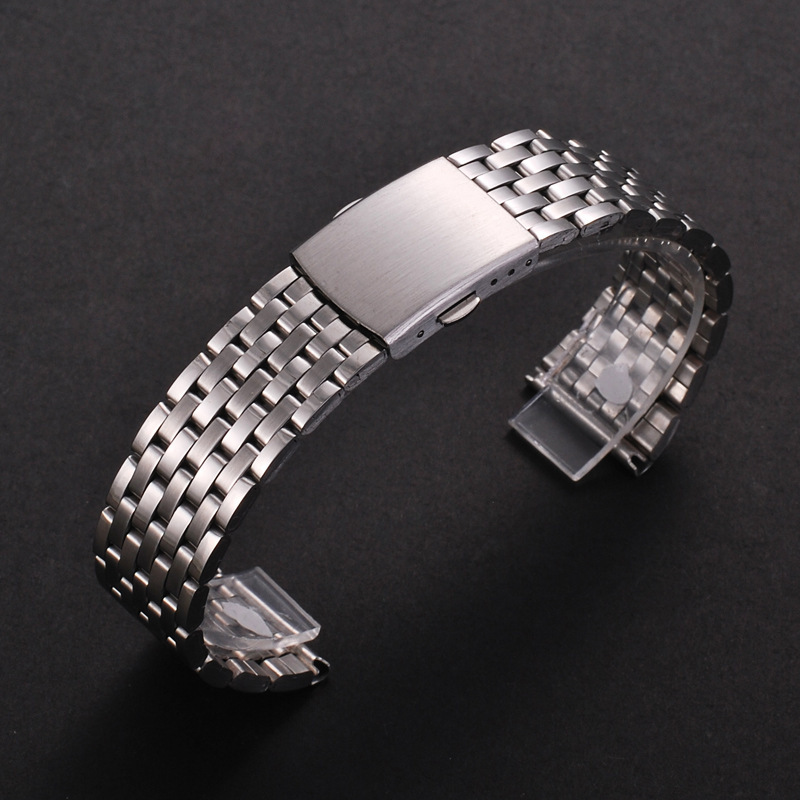 18mm 20mm 22mm Stainless Steel Watch Band Strap For Samsung Gear S2 S3 Smart Watch Link Bracelet Black For Samsung Gear S2