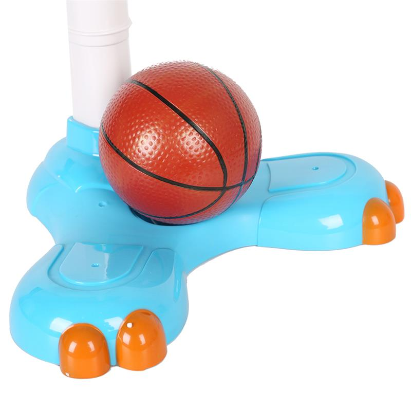 Cartoon Adjustable Basketball Stand Hoop Toy Score-in Toy Balls ...