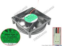 Emacro For Japan Servo SKUD24B4 DC 24 V0.13A 90x90x25mm 2 wire 2 pin connector Server Cooler Fan