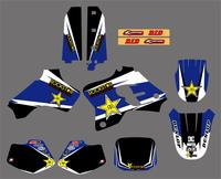 New Star TEAM GRAPHICS DECALS STICKERS For Yamaha YZ80 1993 1994 1995 1996 1997 1998 1999 2000 2001 Motorcycle Racing Kits