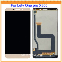 100% Tested new for Letv One pro X800 LCD Screen Display with Touch Screen Digitizer Assembly Gold White Free Shipping