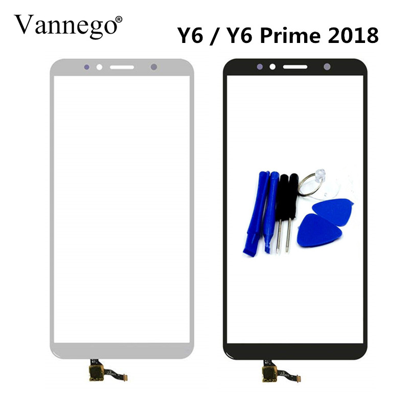 Vannego Touch Screen For Huawei Y6 2018 / Y6 prime 2018 5.7 inch Touchscreen Digitizer panel Sensor Front Glass with toolsVannego Touch Screen For Huawei Y6 2018 / Y6 prime 2018 5.7 inch Touchscreen Digitizer panel Sensor Front Glass with tools