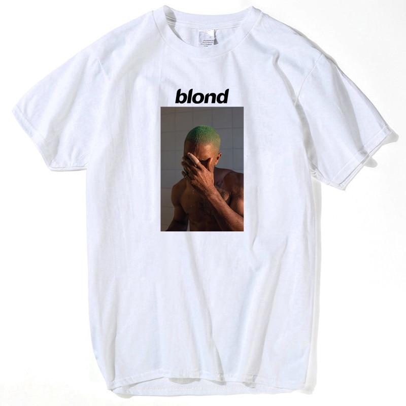2019 Frank Ocean Blonde T Shirt Tee Shirt For Men Printed 2pac Tupac Short Sleeve Funny Top Tee Summer Tops For Men's Streetwear