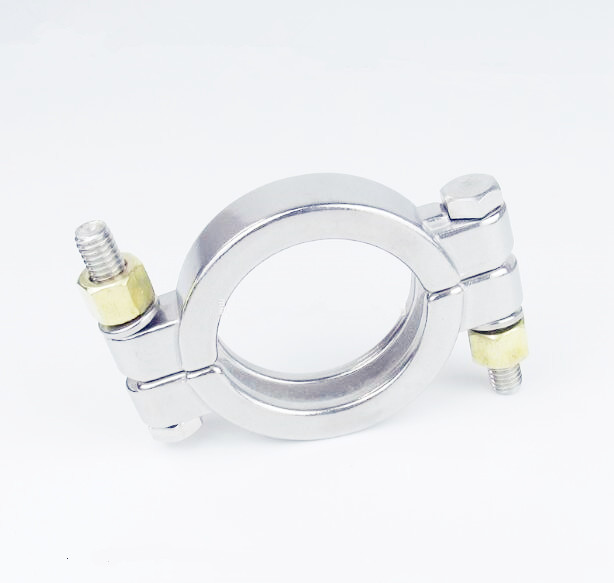 Free Shipping 6 OD167 Sanitary Tri Clamp Stainless Steel 304 Middle Type Ferrule Flange