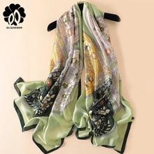 REALSISHOW 2019 Fashion Scarf Luxury Women Brand Silk Scarves Shawl High Quality Print hijab wrap wholesale 180*90cm