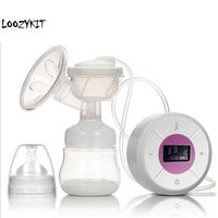 Loozykit Automatic Brand Milk Pumps Electric Breast Pump Natural Suction Enlarger Kit Breast Feeding Bottle USB Breast Pump