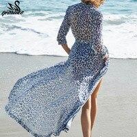 2019 пляжное платье Cover up туники для пляжа длинный кафтан бикини Cover up Robe de Plage пляжный саронг Купальник