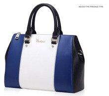 Valentine bags   Women bag Panelled patchwork PU leather handbag Women Messenger bags bsas femininas
