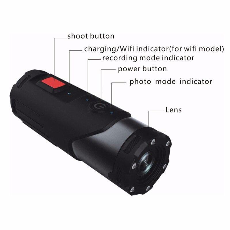 Caméra d'action Mini caméscope SOOCOO S20WS 170 degrés caméra à objectif large intégrée WiFi Full HD 1080 P 10 m caméra de sport étanche - 5