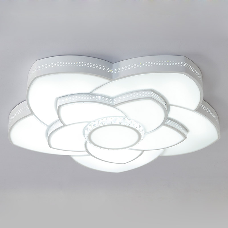 Modern Acrylic Led Ceiling Light With Remote Control Living Room Bedroom Dimming Lamp Decor Home Lighting Fixtures 220V round led ceiling light white modern acrylic ceiling lamp dimmable with remote control for kids bedroom lighting fixtures